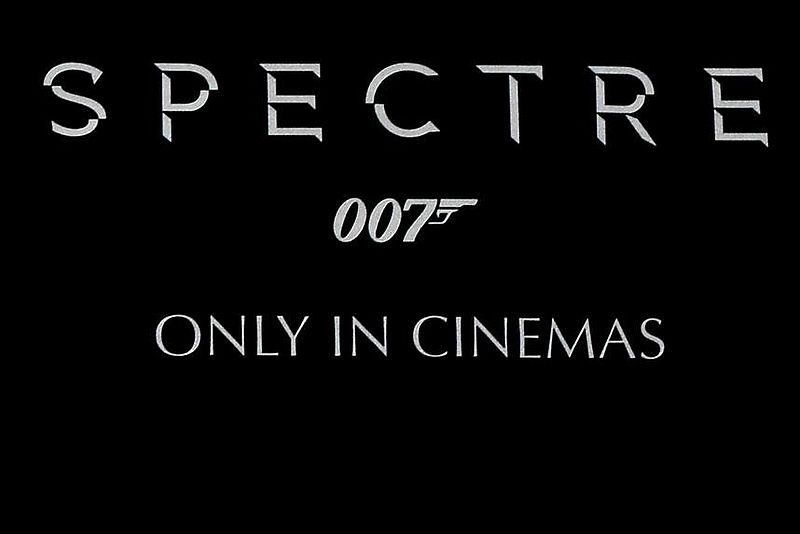 Preview SPECTRE  im Cinedom Köln am 04.11.15